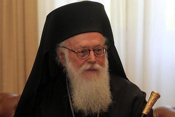Αρχιεπίσκοπος Αλβανίας Αναστάσιος - Απαρχή