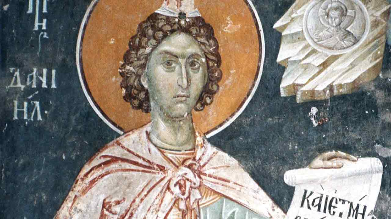 Δανιήλ ανήρ επιθυμιών - Λειτουργικά κείμενα - Θεολογία - Απαρχή
