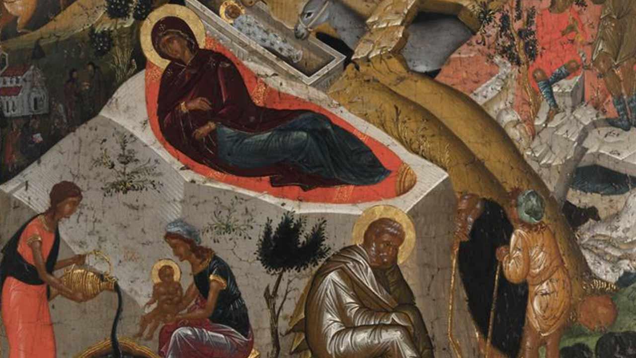 Ευαγγέλιο Γ' Μεγάλης Ώρας Χριστουγέννων - Ευαγγέλιο - Απαρχή