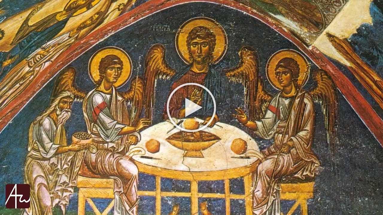 Η φιλοξενία ως προτύπωση του Παραδείσου - Θεολογικός λόγος - π. Σπυρίδων Βασιλάκος - Απαρχή
