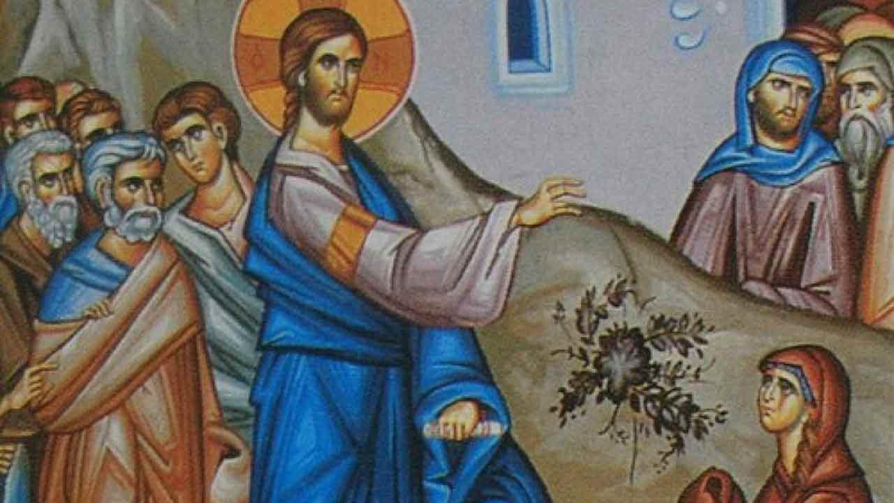 Κυριακή της Χαναναίας - Ευαγγέλιο Κυριακής - Απαρχή - Θεολογία