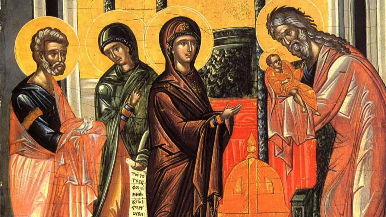 Εις την Υπαπαντή του Κυρίου - Θεολογικός λόγος - Απαρχή - Πατερικά κείμενα