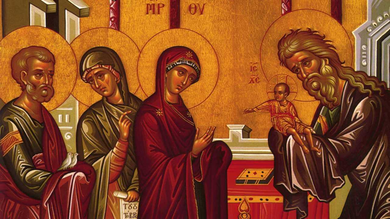 Καταβασίες Υπαπαντής - Απόδοση στη Νεοελληνική - Θεολογικός λόγος - Απαρχή