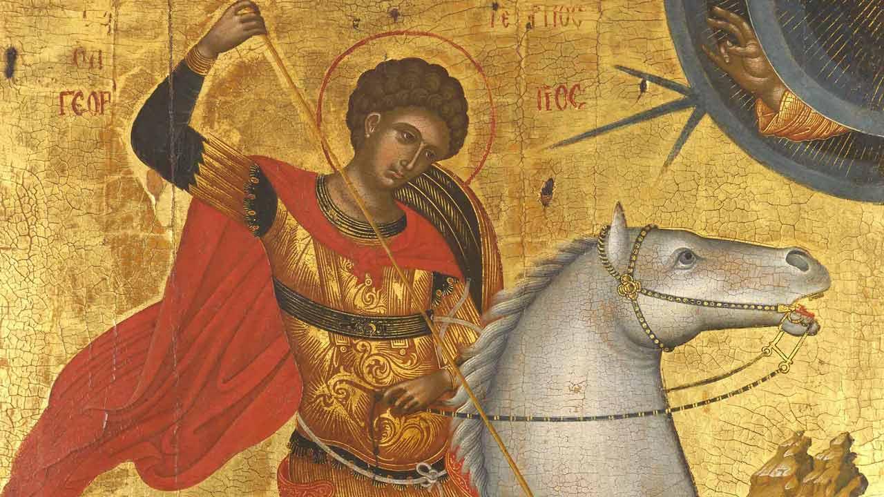 Ανέτειλε το Έαρ: Δοξαστικό Αίνων Αγίου Γεωργίου - Λειτουργικά κείμενα - Λατρευτική ζωή - Λειτουργικά κείμενα