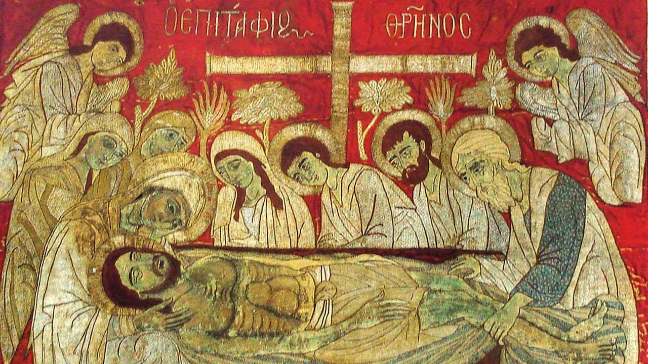 Λόγος στην ταφή του Κυρίου, Άγιος Επιφάνιος Κύπρου - Πατερικός λόγος - Θεολογία - Απαρχή