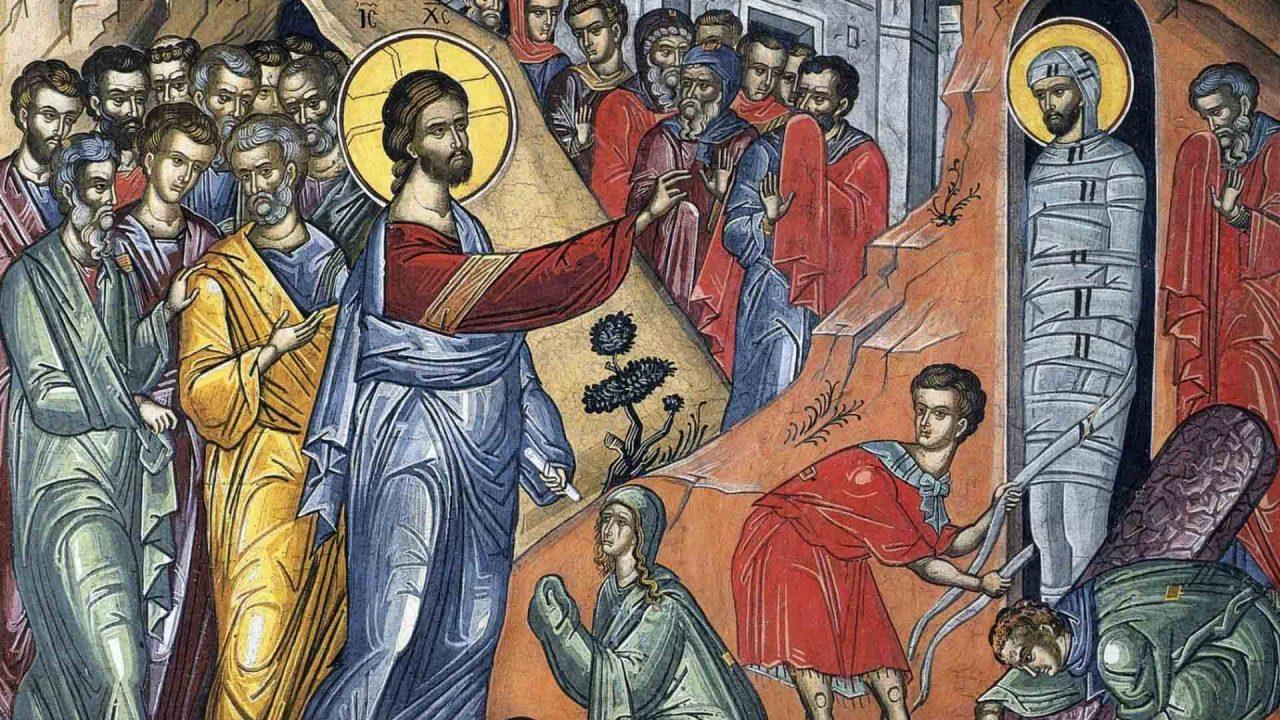 Η έγερση του Λαζάρου, το προοιμιο του Σταυρού - Κείμενα - Θεολογία - Απαρχή