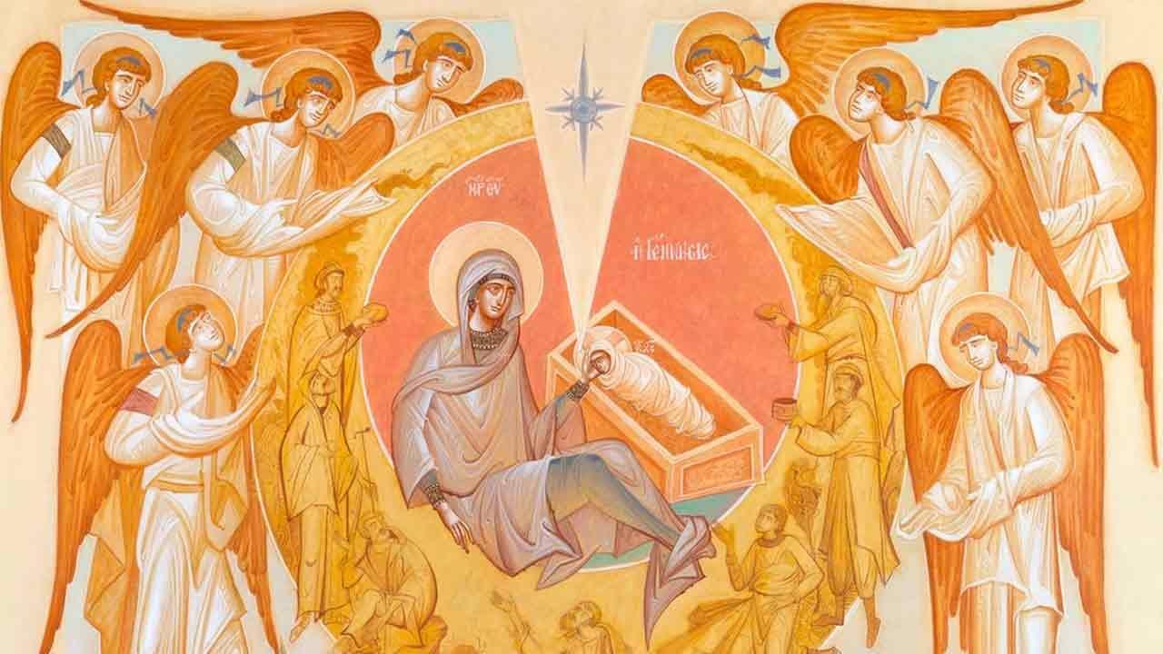 Αίμα και πυρ - Ιδιόμελα των Μεγάλων Ωρών των Χριστουγέννων - Λειτουργική ζωή - Απαρχή - Κανόνας Χριστουγέννων