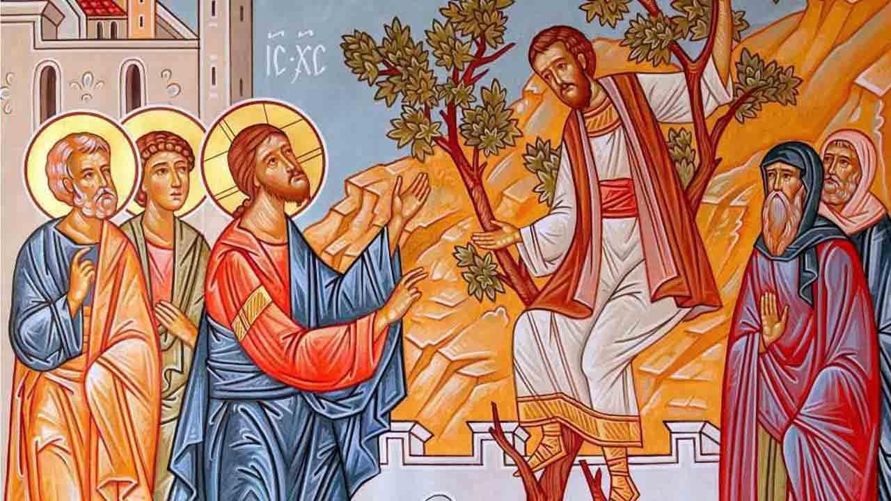Κυριακή του Ζακχαίου - Ευαγγέλιο - Λατρευτική Ζωή - Απαρχή - Θεολογία