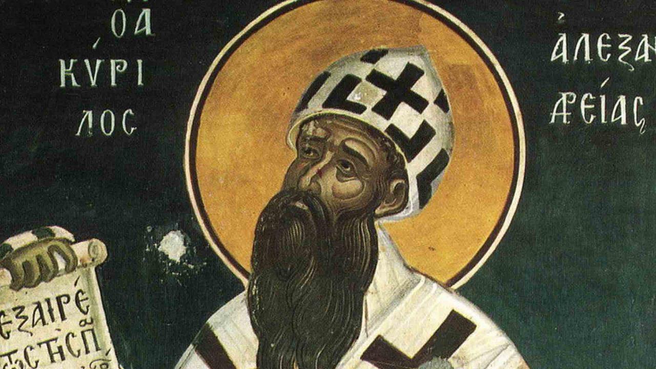 Κύριλλος Αλεξανδρείας - Απαρχή - Θεολογία