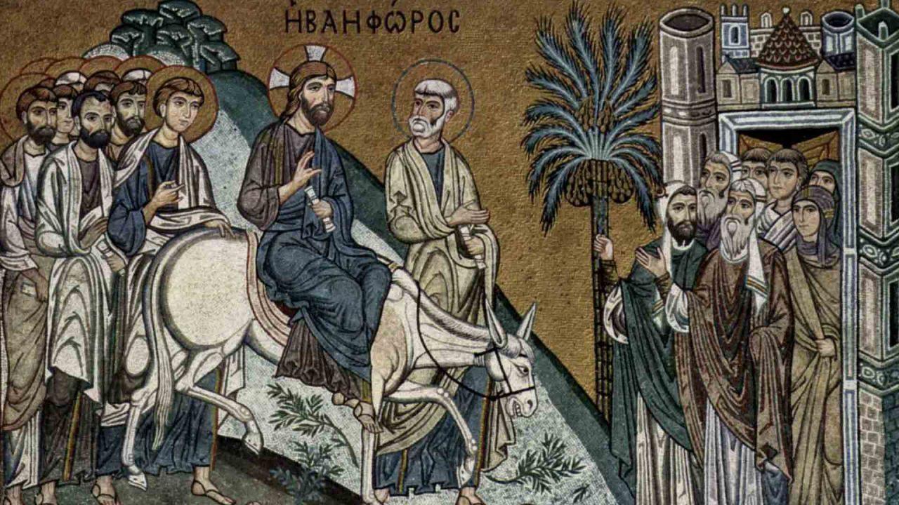 Λόγος στην Κυριακή των Βαΐων, Αγίου Επιφανίου Κύπρου - Κυριακοδρόμιο - Θεολογία - Απαρχή