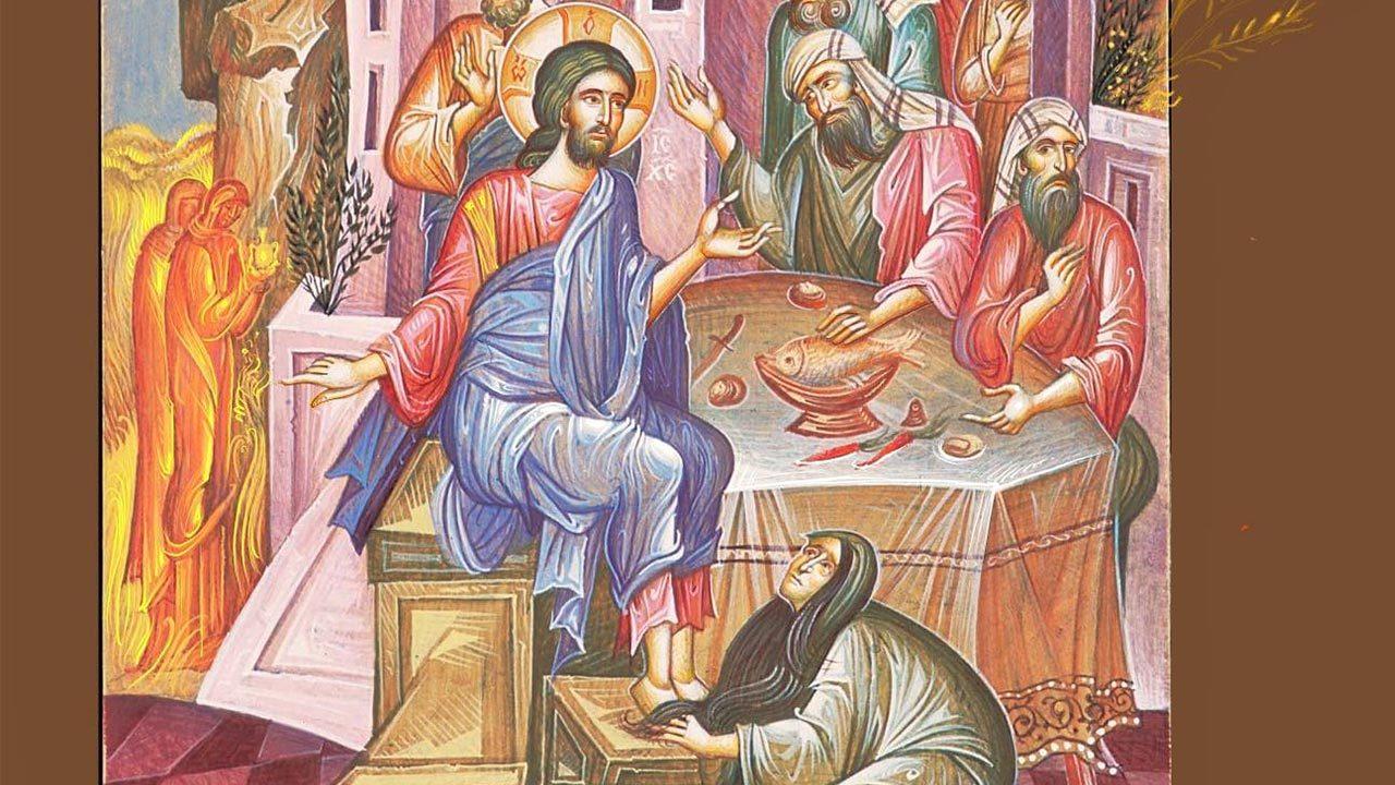 Λόγος στην πόρνη που άλειψε με μύρο τα πόδια του Χριστού, Άγιος Ιωάννης Χρυσόστομος - Πατέρες της Εκκλησίας - Απαρχή - Θεολογία