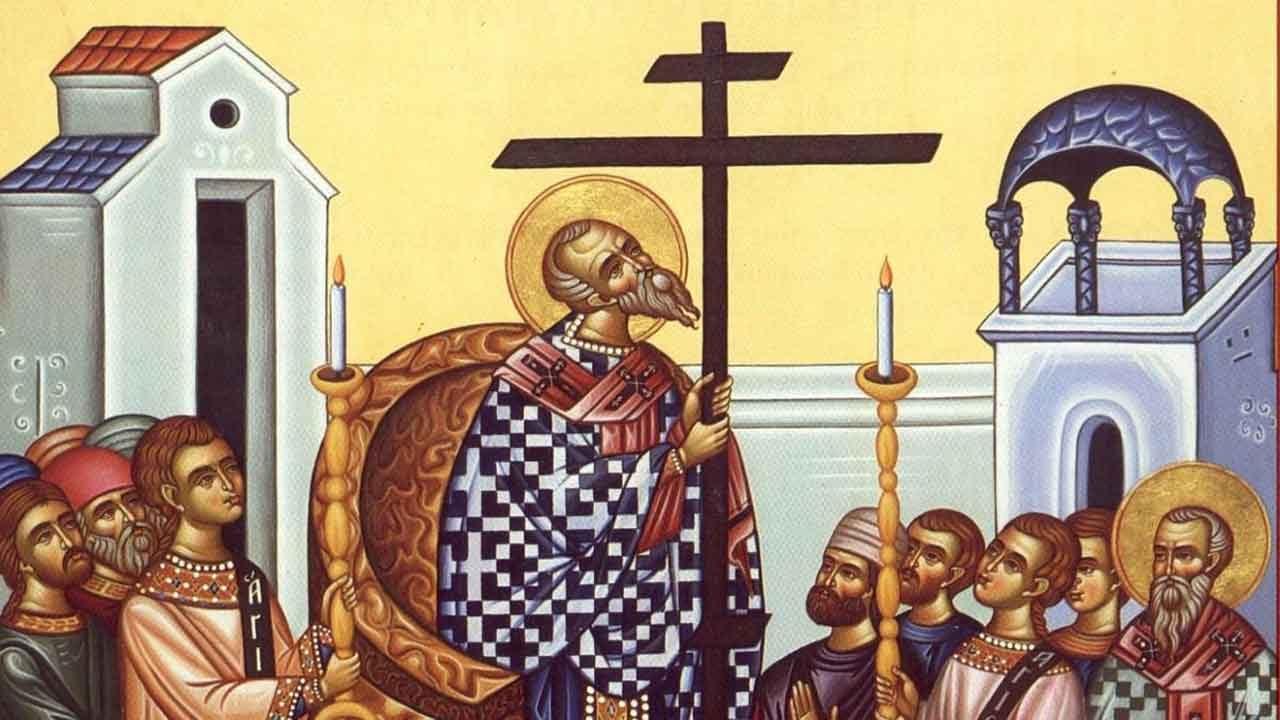 Κυριακή Γ' Νηστειών - της Σταυροπροσκυνήσεως - Απόστολος Κυριακής - Απαρχή - Θεολογία - Αποστολικό Ανάγνωσμα